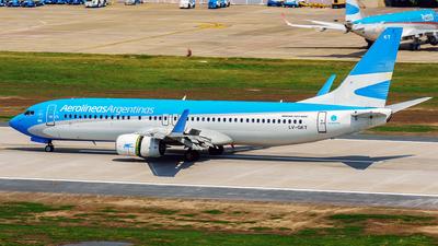 A picture of LVGKT - Boeing 737887 - Aerolineas Argentinas - © Fernando Ariel Torre
