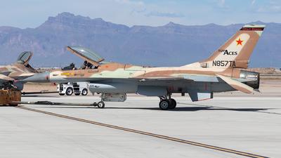 N857TA - General Dynamics F-16A Fighting Falcon - Top Aces