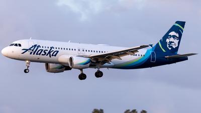 N848VA - Airbus A320-214 - Alaska Airlines