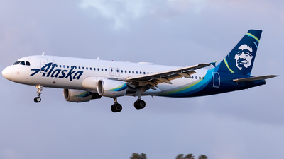 A picture of N848VA - Airbus A320214 - Alaska Airlines - © Ricky Teteris