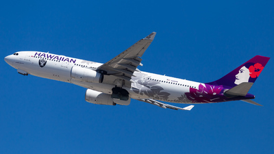 N380HA - Airbus A330-243 - Hawaiian Airlines