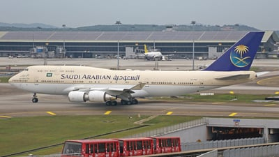 HZ-HM1 - Boeing 747-468 - Saudi Arabia - Royal Flight