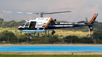 PP-FSP - Helibrás HB-350B Esquilo - Brazil - Governo do Distrito Federal