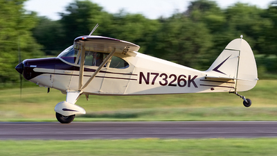 A picture of N7326K - Piper PA20 Pacer - [20234] - © Jeremy D. Dando