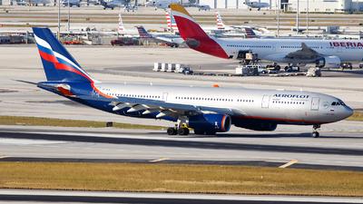 VP-BLX - Airbus A330-243 - Aeroflot