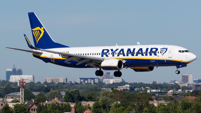 A picture of EIDAF - Boeing 7378AS - Ryanair - © Matteo Lamberts