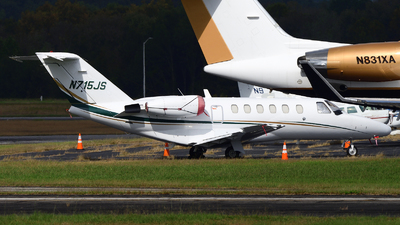 A picture of N715JS - Cessna 525A CitationJet CJ2 - [525A0129] - © Agustin Anaya