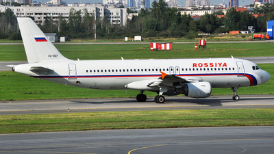 VQ-BDY - Airbus A320-214 - Rossiya Airlines