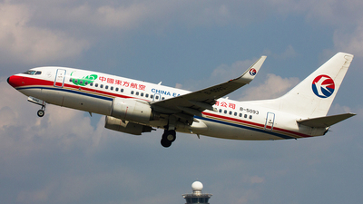 B-5093 - Boeing 737-79P - China Eastern Airlines