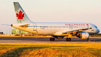 C-FPDN - Airbus A320-211 - Air Canada
