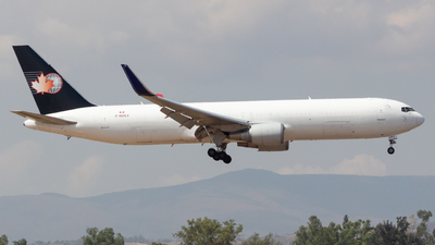 A picture of CGOCJ - Boeing 767316(ER)(BDSF) - Cargojet Airways - © Eduardo Manuel