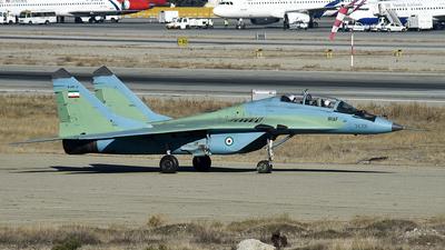 3-6306 - Mikoyan-Gurevich MiG-29UB Fulcrum B - Iran - Air Force