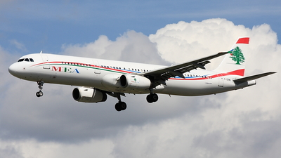 F-ORMG - Airbus A321-231 - Middle East Airlines (MEA)