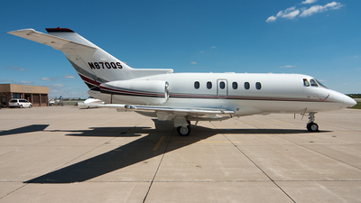 N870QS - Raytheon Hawker 800XP - NetJets Aviation