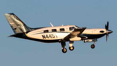 N445T - Piper PA-46-500TP Malibu Meridian - Private