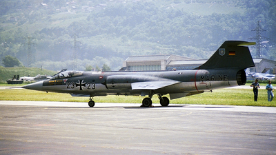 23-23 - Lockheed F-104G Starfighter - Germany - Navy