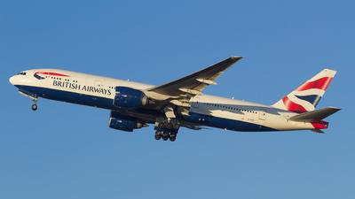 G-VIIS - Boeing 777-236(ER) - British Airways
