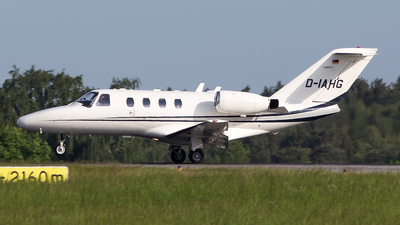D-IAHG - Cessna 525 CitationJet 1 - Private