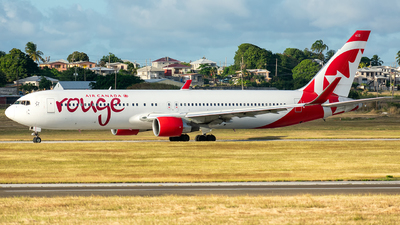 C-FMWQ - Boeing 767-333(ER) - Air Canada Rouge