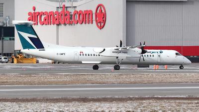 A picture of CGWFE - De Havilland Canada Dash 8400 - WestJet - © Guy Langlois