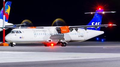 G-FBXD - ATR 72-212A(600) - Scandinavian Airlines (Flybe)