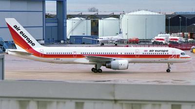 G-BNSD - Boeing 757-236 - Air Europe