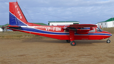VP-FBN - Britten-Norman BN-2 Islander - Falkland Islands Government Air Services (FIGAS)