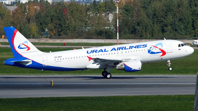 VQ-BAX - Airbus A320-214 - Ural Airlines
