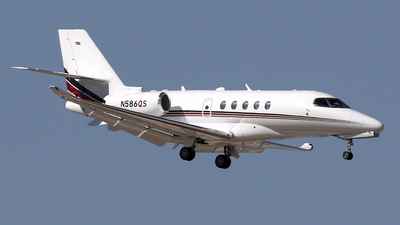 N586QS - Cessna Citation Latitude - NetJets Aviation
