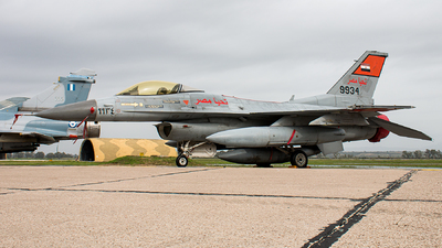 9934 - General Dynamics F-16C Fighting Falcon - Egypt - Air Force