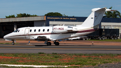 PT-MGS - Cessna 650 Citation VII - Brazil - Government of Minas Gerais State