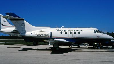 N900WG - Hawker Siddeley HS-125-731A - Wings of Justice