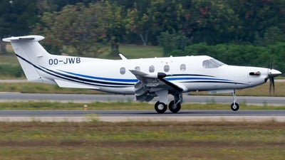 OO-JWB - Pilatus PC-12/47E - Air Service Liège (ASL)