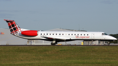 A picture of GSAJJ - Embraer ERJ145EP - Loganair - © Terry Wade