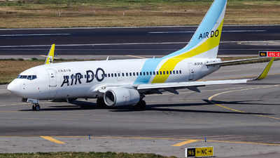 A picture of JA12AN - Boeing 737781 - Air Do - © Jhang yao yun