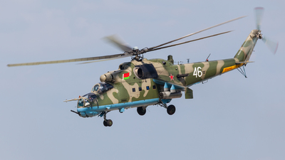 46 - Mil Mi-24P Hind F - Belarus - Air Force