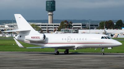 N883CE - Dassault Falcon 2000 - Caesars Palace