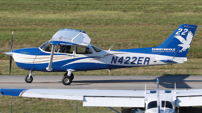 N422ER - Cessna 172S Skyhawk SP - Embry-Riddle Aeronautical University (ERAU)