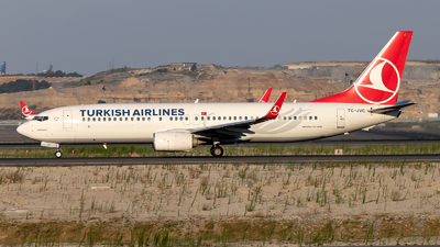 TC-JVC - Boeing 737-8F2 - Turkish Airlines