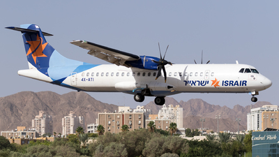 4X-ATI - ATR 72-212A(500) - Israir