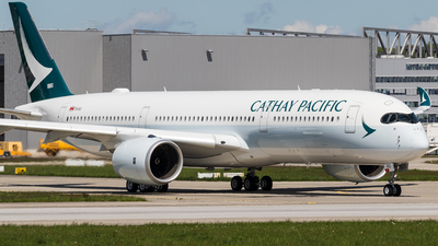 F-WZGF - Airbus A350-941 - Cathay Pacific Airways
