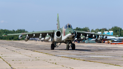 RF-95130 - Sukhoi Su-25BM Frogfoot - Russia - Air Force