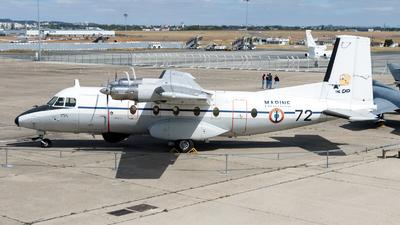 72 - Nord N-262E Fregate - France - Navy