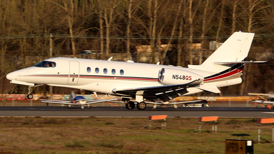 A picture of N548QS - Cessna 680A Citation Latitude - NetJets - © Huy Do