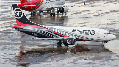 A picture of B2877 - Boeing 73733V(SF) - SF Airlines - © YueYiFeiMa-YYFM