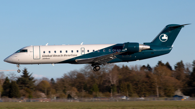 OY-MIL - Bombardier CRJ-200LR - Global Reach Aviation (Copenhagen Air Taxi (CAT))
