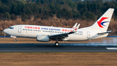 A picture of B5295 - Boeing 73779P - China Eastern Airlines - © SunnyZUUU