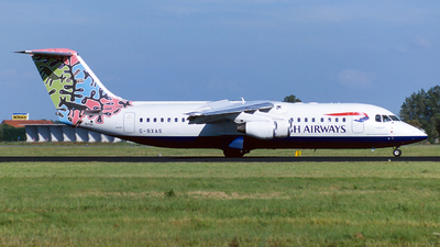 G-BXAS - British Aerospace Avro RJ100 - British Airways (CityFlyer Express)