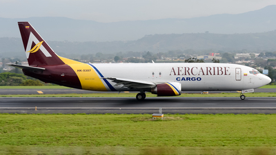 A picture of HK5357 - Boeing 7374K5(SF) - AerCaribe - © RAFAEL FERNANDEZ ABARCA