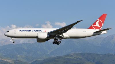A picture of TCLJP - Boeing 777FF2 - Turkish Airlines - © Damir Kagarmanov-Kazakhstan Spotting Club